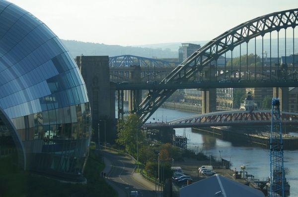The Sage and Tyne Bridges