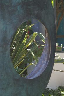 Barbara Hepworth Sculpture Garden 9