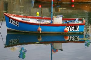 Boat Reflection Mevagissey