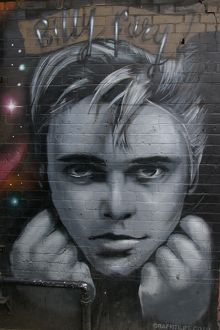 London Street Art #11 - Billy Fury