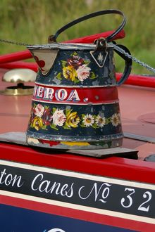 Narrow Boat - Painted Jug